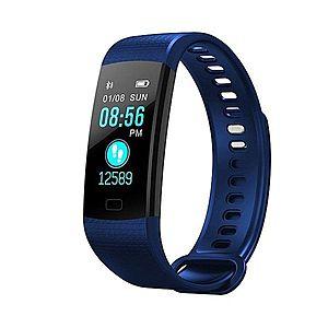 Bratara Smart Fitness Sport Y5 Albastru Bluetooth 4.0 Waterproof cu Monitorizare Somn, Cardiaca si Pedometru imagine