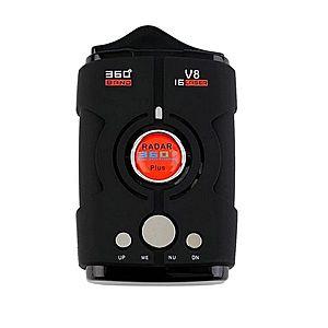 Detector Radar Auto V8 Cu Laser, Alerta Voce, Sistem Alarma Viteza imagine