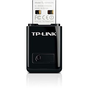 Adaptor Wireless TP-LINK TL-WN823N, 300 Mbps, Antena interna, USB 2.0 imagine