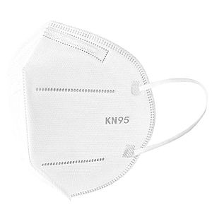 Masca de protectie cu filtru de protectie ridicat FFP2 KN95, 4 straturi imagine