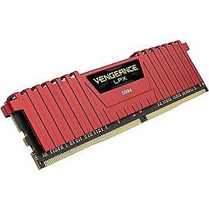 Memorie Corsair Vengeance LPX Red DDR4, 1x8GB, 2666 MHz, CL 16 imagine