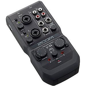 Zoom U-24 Handy Audio Interface imagine