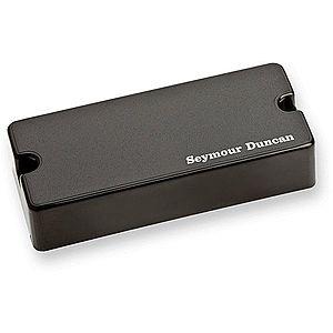 Seymour Duncan SSB-4B Passive Soapbar 4-String Bass Bridge Pickup Black imagine