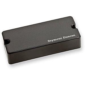 Seymour Duncan SSB-4N Passive Soapbar 4-String Bass Neck Pickup Black imagine