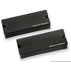 Seymour Duncan SSB-5S Passive Soapbar 5-String Bass Pickup Set Black imagine