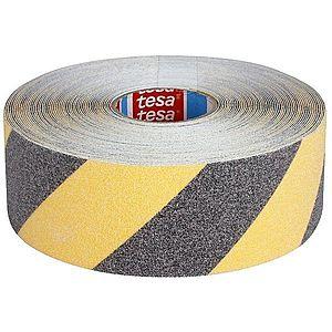 TESA Antislip Tape 60951 Yellow-Black 50 mm x 15 m imagine