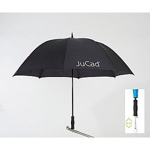 Jucad Telescopic Umbrella Black imagine