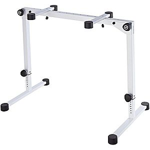 Konig & Meyer 18820 Table-Style Keyboard Stand Omega Pro Pure White imagine