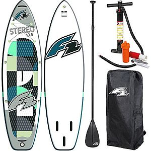 F2 Stereo 11'5'' (348 cm) Paddleboard, Placa SUP imagine