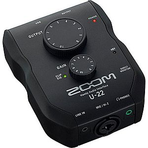 Zoom U-22 Handy Audio Interface imagine