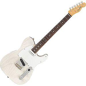 Fender Jimmy Page Mirror Telecaster RW White Blonde imagine