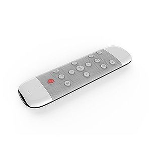 Tastatura Techstar® Q9, Air Mouse + Telecomanda, Iluminata, Anti-Pierdere, 2.4G, Gyroscop si IR, Voice Search, Google Assistant imagine