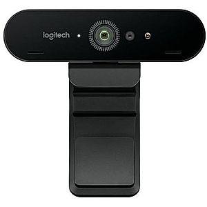 Camera Web Logitech Brio, 4K, USB 3.0 Autofocus (Negru) imagine