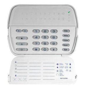 Tastatura LED wireless DSC RFK5516, 16 zone, 8 partitii, 32 zone radio imagine