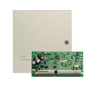 Centrala alarma antiefractie DSC Power PC 1832 cu cutie metalica, 4 partitii, 8-32 zone, 72 utilizatori imagine