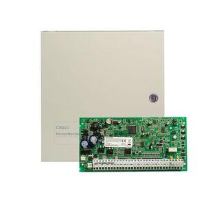 Centrala alarma antiefractie DSC Power PC 1864 cu cutie metalica, 8 partitii, 8-64 zone, 95 utilizatori imagine