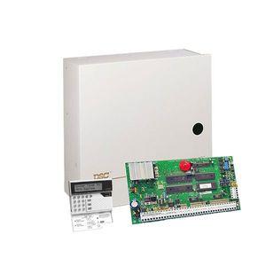 Centrala alarma antiefractie DSC Maxsys PC 4020 cu tastatura LCD4500 si cutie metalica, 8 partitii, 16 zone, 1500 utilizatori imagine