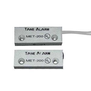 Contact magnetic din aluminiu MET-200, interspatiu 32 mm, reed NO imagine