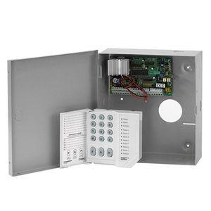 Centrala alarma antiefractie DSC Power PC 585 cu tastatura PC1555 si cutie metalica, 1 partitie, 4-32 zone, 38 utilizatori imagine