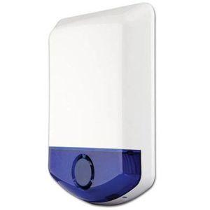 Sirena de exterior stroboscopica wireless DSC WT 4911, 100 dB, RF 300 m, senzor temperatura imagine
