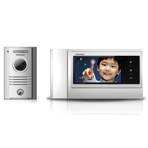 Set videointerfon Commax COLOR FAM, 1 familie, 7 inch, aparent imagine