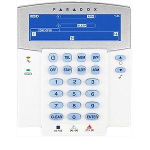 Tastatura LCD Paradox K35, 32 zone, 2 partitii, StayD imagine