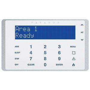 Tastatura LCD cu touch screen Paradox K656, taste capacitive, 3 alarme panica imagine