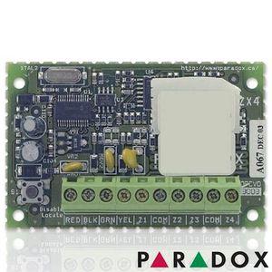Modul de extensie Paradox ZX4, 4 zone conventionale, dublare ATZ, 4 intrari imagine