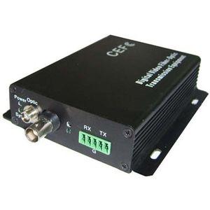 Kit emitator si receptor de fibra optica + canal de date FO-6101D imagine