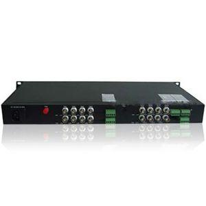 Kit emitator si receptor de fibra optica + canal date FO-61016D imagine