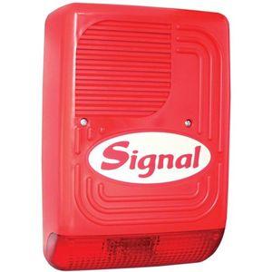 Sirena incendiu de exterior autonoma cu lampa Signal PS 128F, 118 dB, IP34 imagine