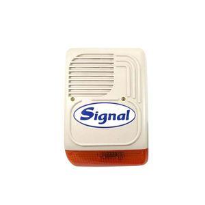 Sirena de exterior stroboscopica PS 128, 128 dB, 7 tonuri, tamper imagine