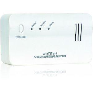 Detector de gaz natural Stand Alone WizMart NB-920-NR, 1 iesire, 85 dB, 230 Vac imagine