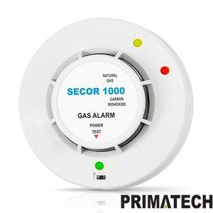 DETECTOR DE GAZ METAN SI MONOXID DE CARBON PRIMATECH SECOR 1000 / 12V imagine