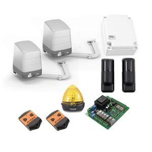 Kit automatizare poarta batanta Roger Technology H23/284, 2.8 m/canat, 400 Kg/canat, 230 V imagine