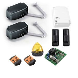 Kit automatizare poarta batanta Roger Technology R23/373, 3.5 m/canat, 400Kg/canat, 230 Vac imagine
