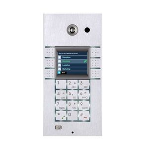 Videointerfon de exterior VOIP VARIO (9137160CKDU), ingropat, VGA, PoE imagine