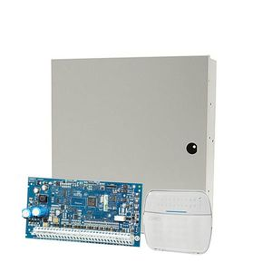 Centrala alarma antiefractie NEO DSC NEO-2016 cu tastatura NEO HS2LED si carcasa PC5003, 2 partitii, 6 zone, 48 utilizatori imagine
