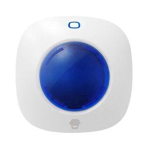 Sirena stroboscopica wireless de interior Chuango WS-105, 90 dB, 433 MHz, max 40 accesorii imagine
