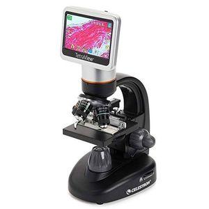 Microscop digital LCD Celestron TetraView imagine