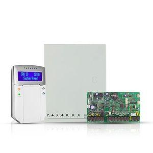 Centrala alarma antiefractie Paradox Digiplex EVOHD cu tastatura K641+ si carcasa, 8 partitii, 8-192 zone, 5-32 PGM imagine