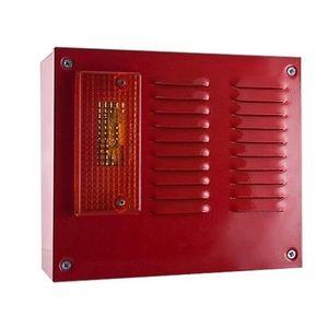 Sirena incendiu de exterior conventionala cu flash UniPOS SB112F, 118 dB, 1.5 Hz, 12-30 VDC imagine