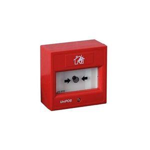 Buton de incendiu wireless UniPOS VIT50, element elastic, LED, aparent imagine