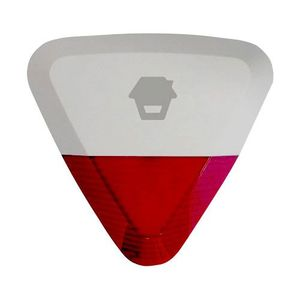 Sirena de exterior stroboscopica wireless Chuango WS-280, 105 dB, RF 80 m, IP54 imagine