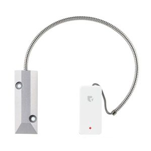 Contact magnetic wireless pentru usa de garaj DinsafeR DJL01O, aparent, RF 200 m, 3V imagine