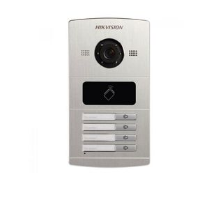 Videointerfon de exterior HIKVISION DS-KV8402-IM, 4 familii, 1.3 MP, ingropat imagine
