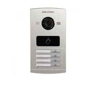Videointerfon de exterior HIKVISION DS-KV8402-IM, 4 familii, 1.3 MP, ingropat imagine
