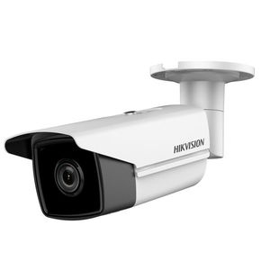 Camera supraveghere exterior IP Hikvision DS-2CD2T85FWD-I8, 4 K, IR 80 m, 2.8 mm imagine