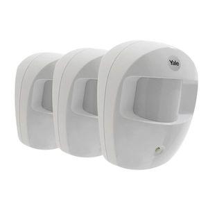 Set 3 senzori de miscare PIR-SR YALE 60-A100-3PIR-SR-5011, 868 MHz, WiFi imagine