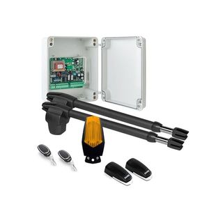 Kit automatizare poarta batanta Motorline LINCE 400 - 230V, 250 Kg/canat, 3 m/canat, 180 W imagine